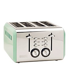 Cotswold 4-Slice Stainless Steel Toaster