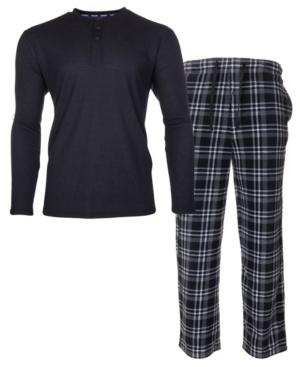 Men's Sleep Thermal Top Pant Set