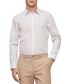 Men's Geo-Print Classic-Fit Shirt
