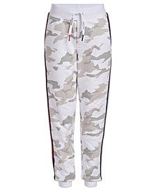 Little Boys Camouflage Taped Sweatpants