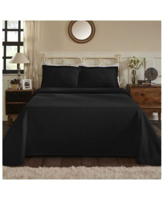 Medallion Jacquard Matelasse 3 Piece Bedspread Set, Full