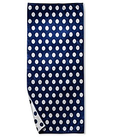 Polka Dot Oversized Beach Towel, One Size