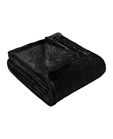 Wrinkle Resistant Plush Fleece Blanket, Full/Queen