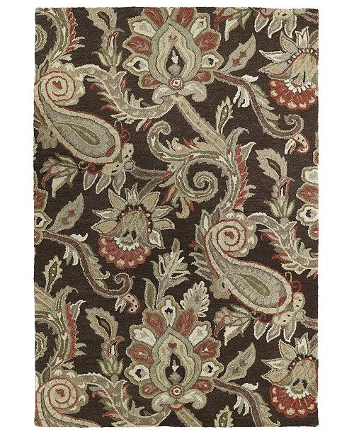 Kaleen Helena 3204-40 Chocolate 12' x 15' Area Rug