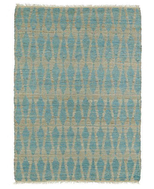 Kaleen Matira Mat08-17 Blue 3' x 5' Area Rug
