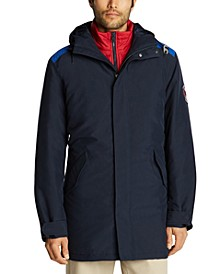Men's 3-In-1 Hooded Jacket, Created For Macy's