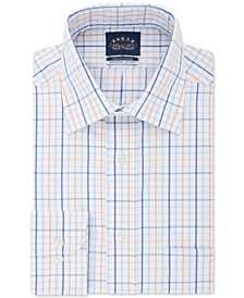 Men's Classic-Fit Windowpane Dress Shirt