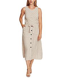 Vince Camuto Striped Sleeveless Dress