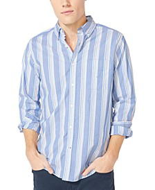 Men's Striped Shirt, Created for Macy's