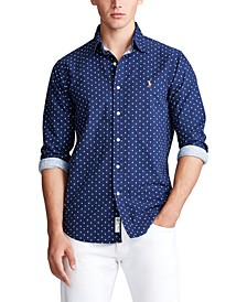Men's Classic-Fit Anchor-Print Shirt