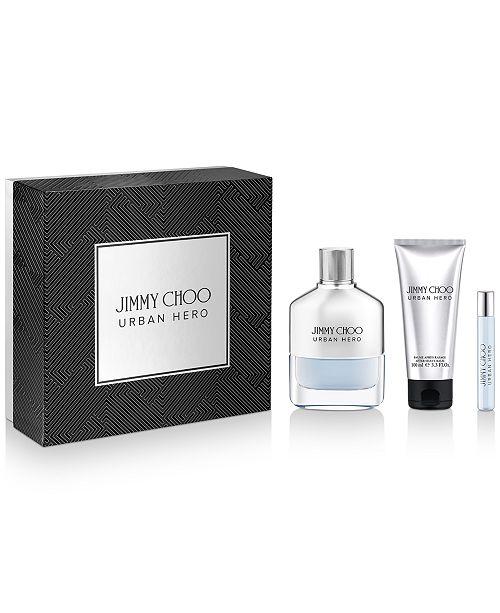 Jimmy Choo Men's 3-Pc. Urban Hero Eau de Parfum Gift Set