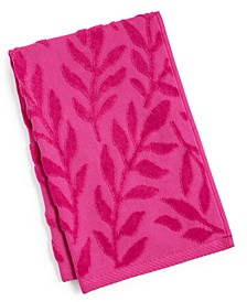 """CLOSEOUT! Trailing Flowers Cotton 16"""" x 26"""" Hand Towel"""