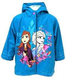 Toddler Girls Frozen 2 Fearless Sisters Rain Coat