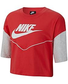 Women's Sportswear Cotton Heritage Cropped T-Shirt