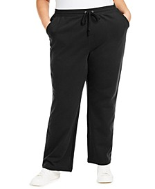 Plus Size French Terry Pants, Created for Macy's