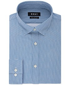 Men's Slim-Fit Textured Dress Shirt