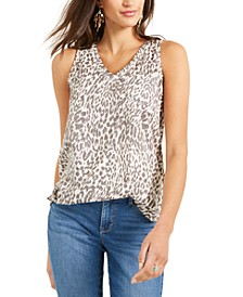 Printed One-Pocket Tank, Created For Macy's