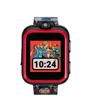 iTouch Kids PlayZoom Dc Comics Justice League Strap Touchscreen Smart Watch 42x52mm