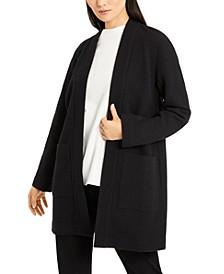Open-Front Kimono Jacket