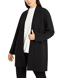 Eileen Fisher Open-Front Kimono Jacket