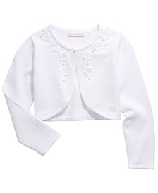 Little Girls Cotton Flyaway Cardigan