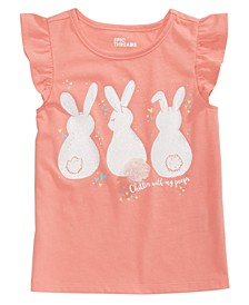 Little Girls Bunny Tail T-Shirt, Created for Macy's