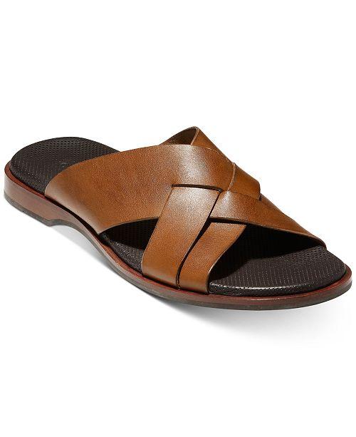 Cole Haan Men's Goldwyn 2.0 Multi-Strap Slide Sandals