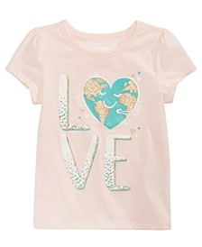 Toddler Girls Love Earth T-Shirt, Created for Macy's
