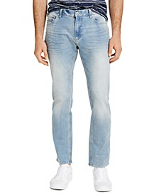 Men's Straight-Fit Flatlands Jeans, Created for Macy's