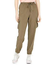 Juniors' Pull-On Cargo Pants