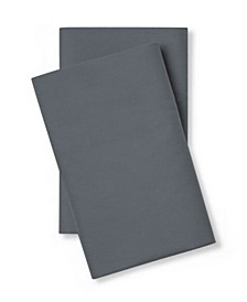 400 Thread Count Cotton Percale King Pillow Case Pair