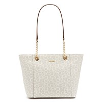 Deals on Calvin Klein Hayden Large Signature Tote
