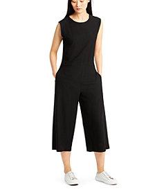 Eileen Fisher Cropped Wide-Leg Jumpsuit