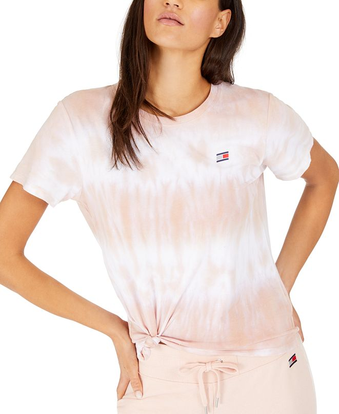 Tommy Hilfiger Tied Tie-Dyed T-Shirt