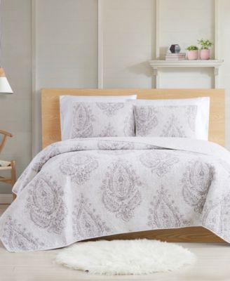 Paisley Blossom 2-Piece Twin XL Quilt Set