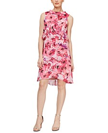 Floral Tiered Shift Dress