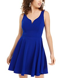 Juniors' Sweetheart A-Line Dress