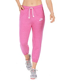 Women's Gym Vintage Capri Sweatpants