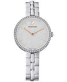 Women's Swiss Cosmopolitan Stainless Steel Bracelet Watch 32mm