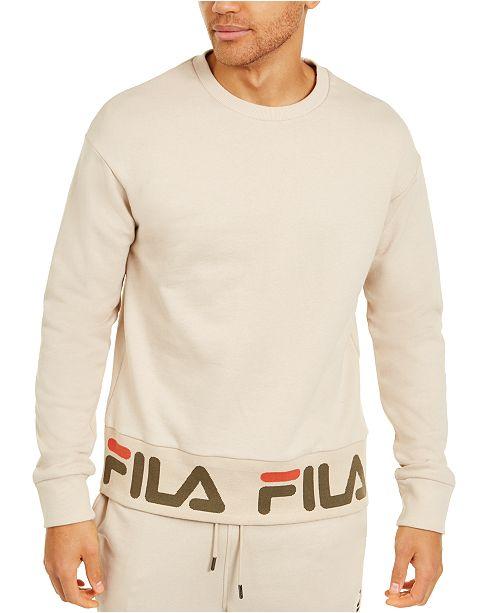 Fila Men's French Terry Logo Sweatshirt