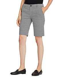 Stretch-Cotton Twill Bermuda Shorts