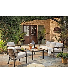 Stockholm Outdoor Seating Collection, with Sunbrella® Cushions, Created for Macy's