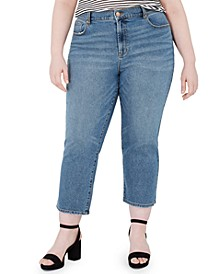 Trendy Plus Size The Bestie Cropped Jeans