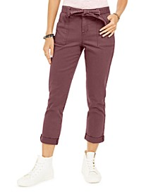 Belted Cuffed Jeans, Created for Macy's