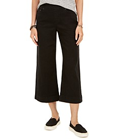 Plus Size Cropped Wide-Leg Pants, Created For Macy's