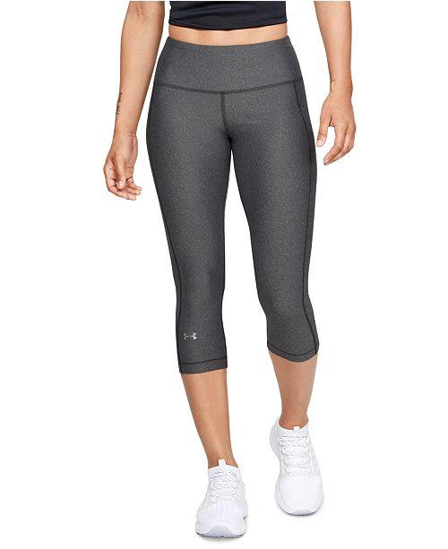 Under Armour Women's HeatGear® High-Rise Capri Compression Leggings