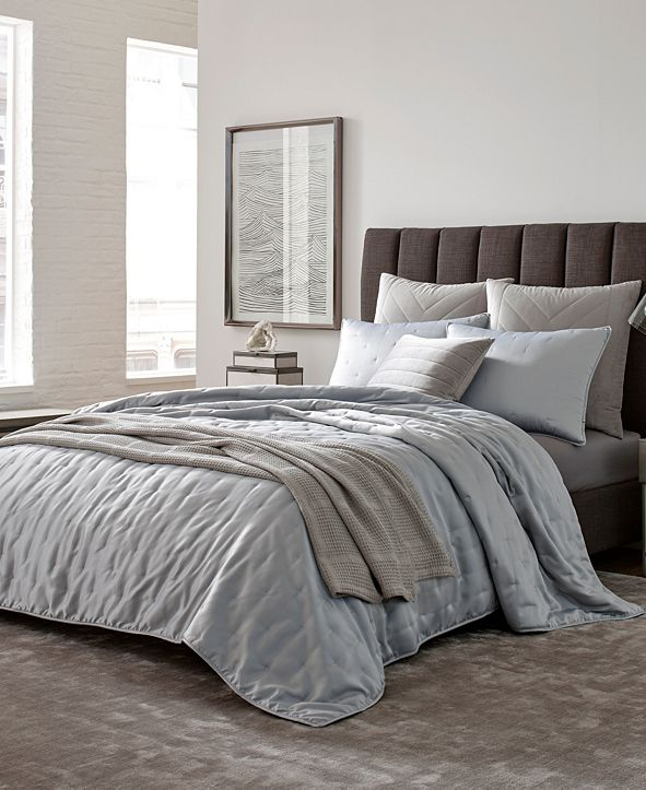 Kenneth Cole Kagan Twin Quilt