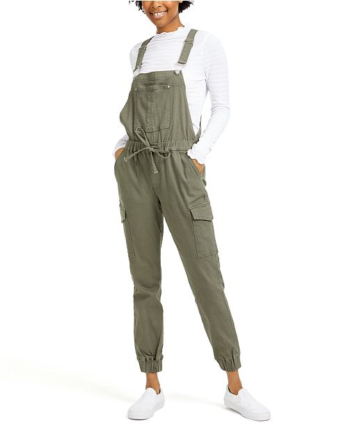 Almost Famous Juniors' Jogger Overalls
