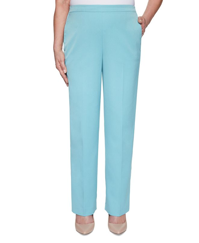 Alfred Dunner Chesapeake Bay Pull-On Straight-Leg Pants