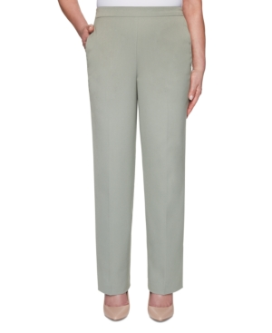 Chesapeake Bay Pull-On Straight-Leg Pants